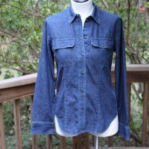 Chaps Denim Shirt - Women's Size Small